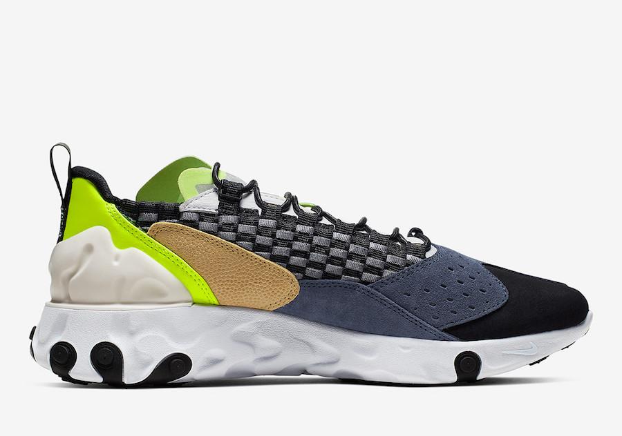 Nike React Sertu Black Volt AT5301-002 Release Date Info
