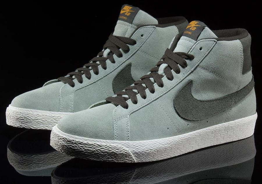 Nike SB Blazer Mid Jade Horizon 864349-301 Release Date Info