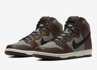 Nike SB Dunk High Pro Baroque Brown BQ6826-201 Release Date