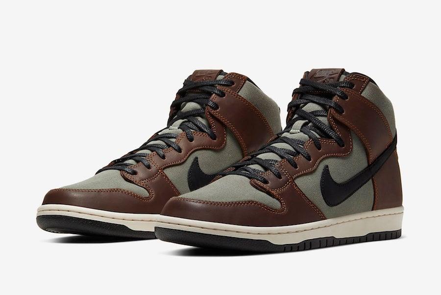 Nike SB Dunk High Pro Baroque Brown