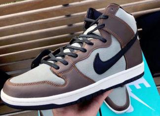 Nike SB Dunk High Pro Baroque Brown BQ6826-201 Release Date Info