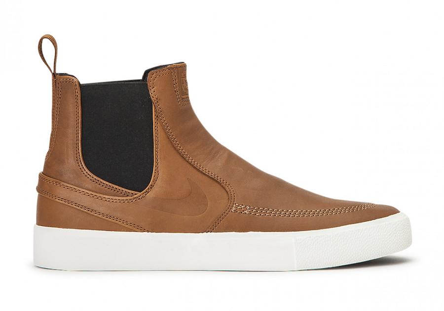 Nike SB Stefan Janoski Slip Mid Light British Tan BQ5888-200 Release Date Info