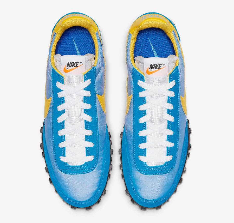 Nike Waffle Racer Blue Yellow CN5449-400 Release Date Info