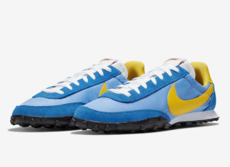 Nike Waffle Racer Blue Yellow CN5449-400 Release Date Info