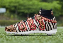 Odell Beckham Jr atmos Nike Air Max 1 Animal Cleats