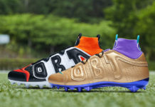Odell Beckham Jr Nike Week 2 Cleats Fresh Prince Shattered Backboard