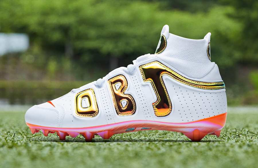 Odell Beckham Jr Week 4 Cleats