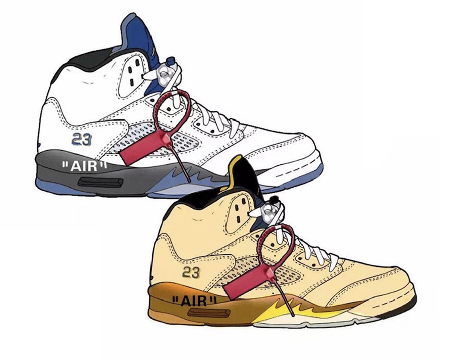 Off-White Air Jordan 5 2020