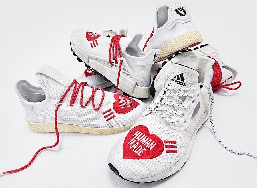 Pharrell adidas Human Made Pack