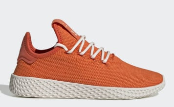 Pharrell adidas Tennis Hu Orange FV0053 Release Date Info