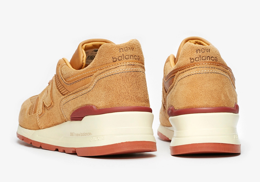 Red Wing Shoes New Balance 997 M997RW Release Date Info