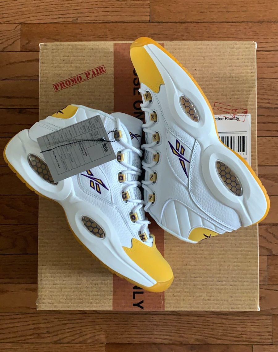 Reebok Question Kobe Yellow Toe PE