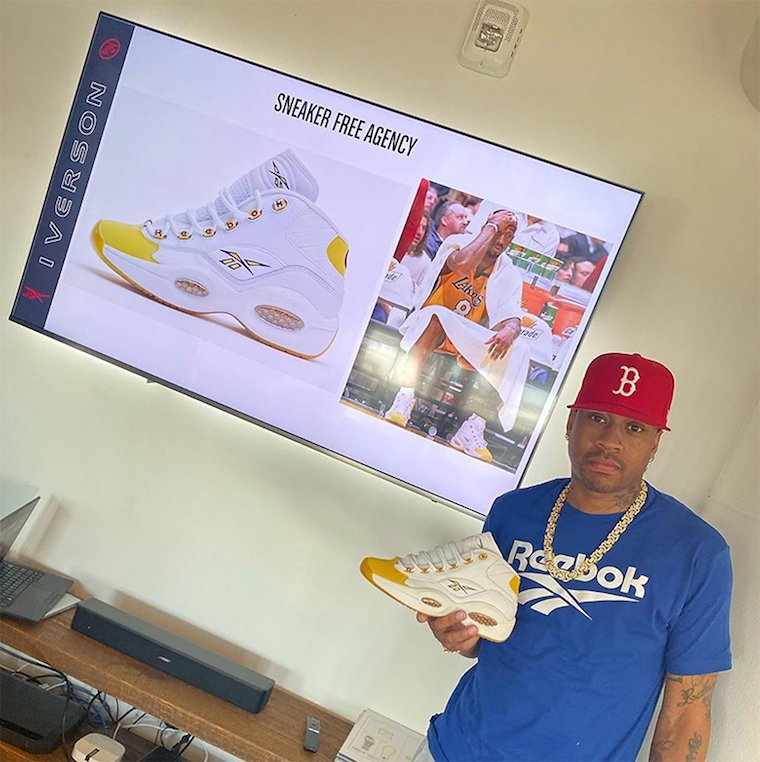 Reebok Question Sneaker Free Agency Lakers Kobe Bryant Release Date Info