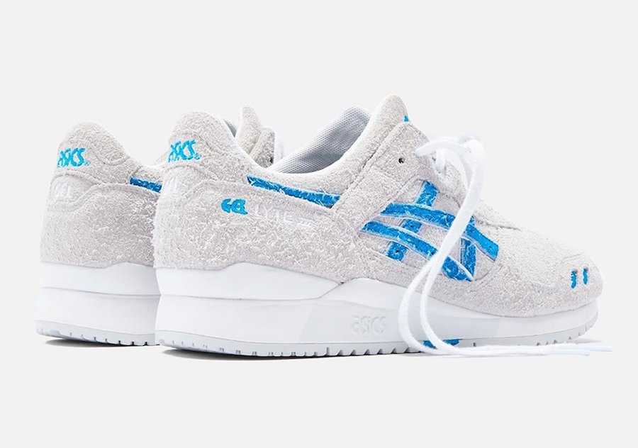 Ronnie Fieg Asics Gel Lyte 3 Super Blue