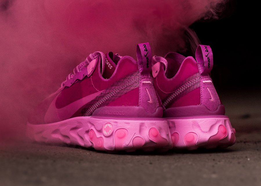 Sneaker Room Nike React Element 87 Pink Breast Cancer Release Date Info