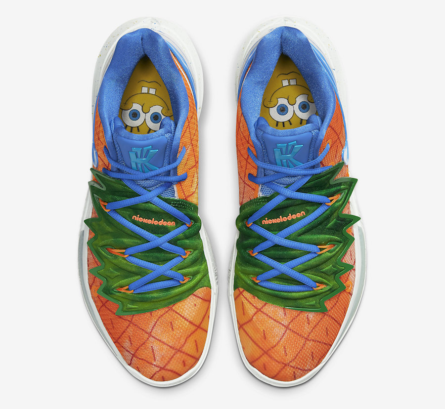 SpongeBob Nike Kyrie 5 Pineapple House CJ6951-800 Release Date