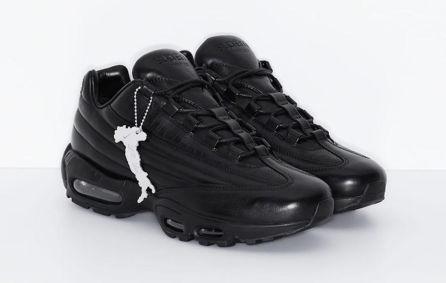 Supreme Nike Air Max 95 Lux Black Release Date