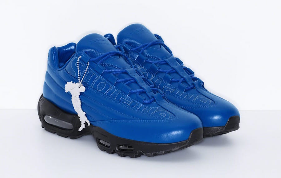 Supreme Nike Air Max 95 Lux Blue Release Date