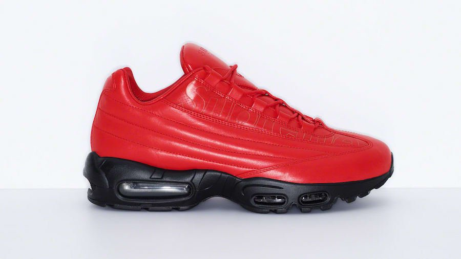 Supreme Nike Air Max 95 Lux Red Release Date