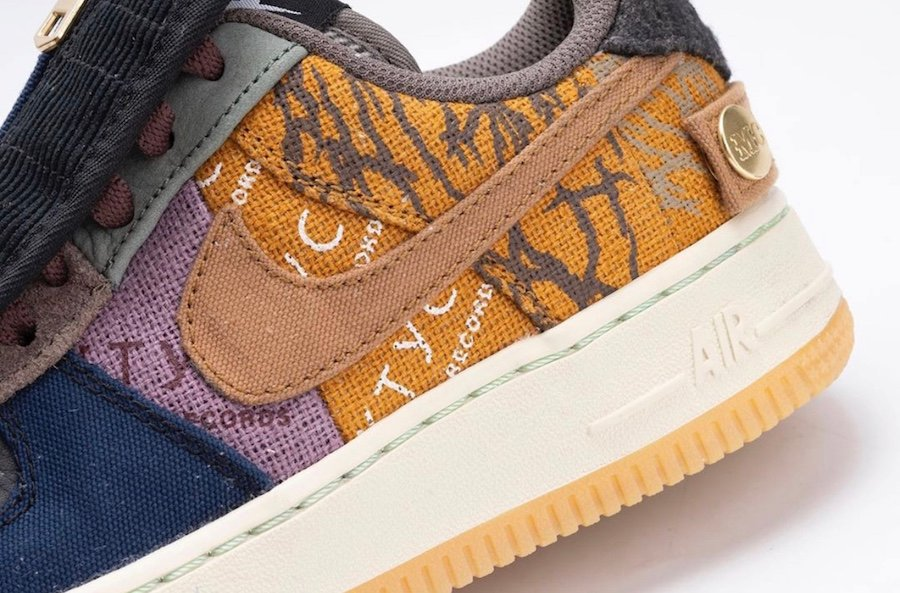 Travis Scott Nike Air Force 1 Low CN2405-900 2019 Release Date