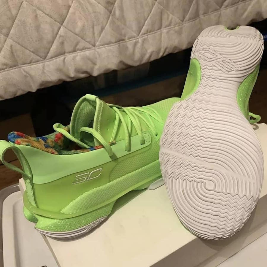 Under Armour Curry 7 Sour Patch Kids Release Date Info