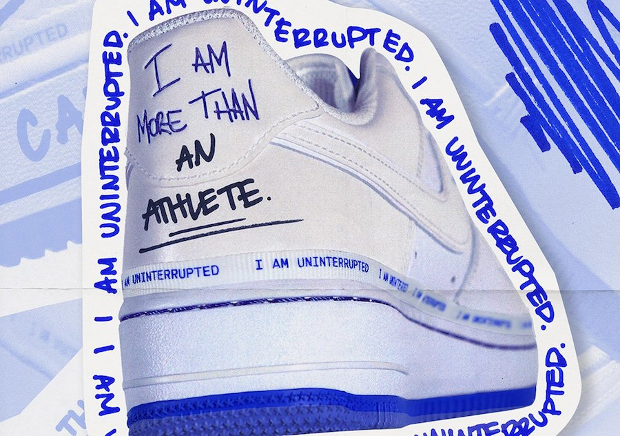 Uninterrupted Nike Air Force 1 Release Date