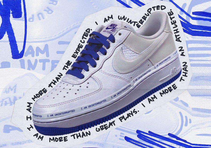 Uninterrupted Nike Air Force 1 Low CQ0494 100 Release Date