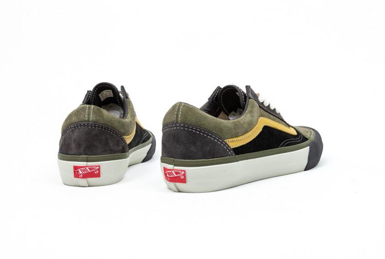 Vans Old Skool VLT LX Black Khaki Release Date Info