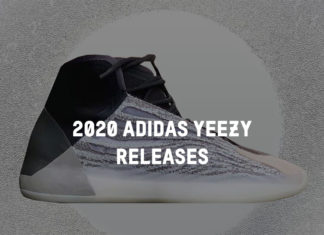 2020 adidas Yeezy Release Dates Colorways