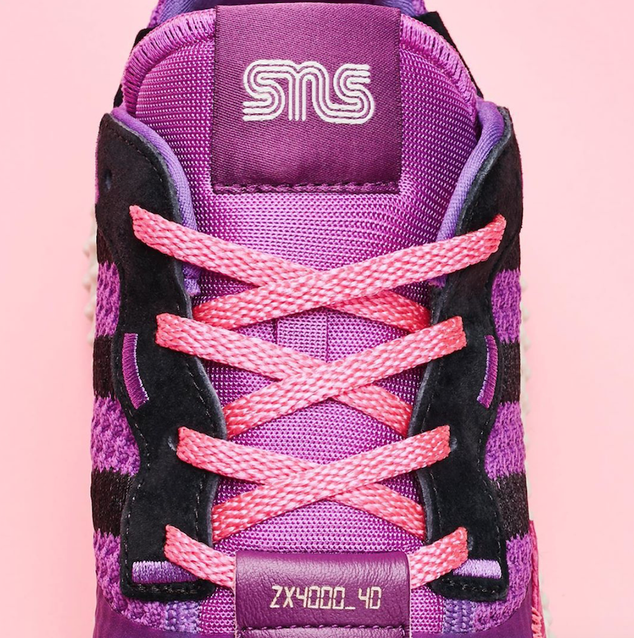 Sneakersnstuff adidas ZX 4000 4D Sunset
