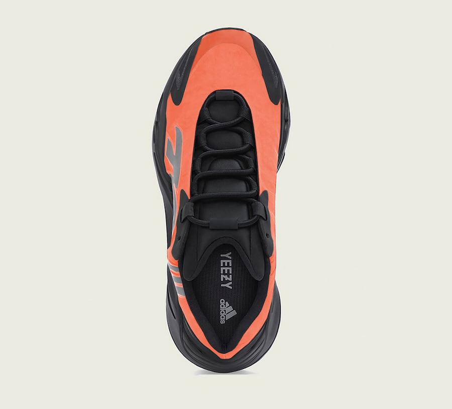 adidas Yeezy MNVN Orange Release Date