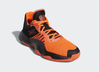 adidas DON Issue 1 Core Black Solar Red EH2133 Release Date Info