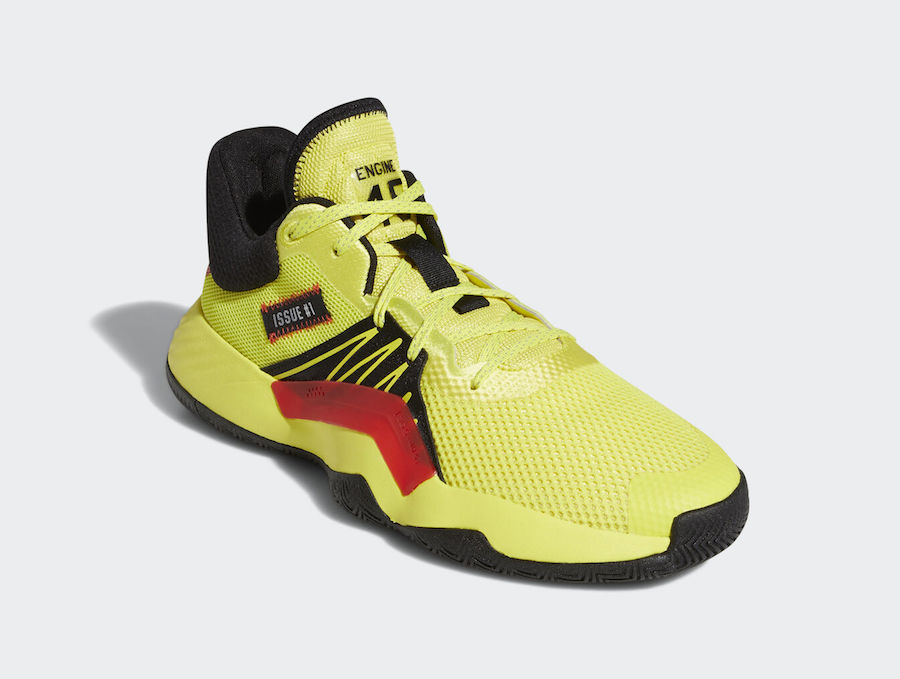 adidas DON Issue 1 Shock Yellow EG5667 Release Date Info