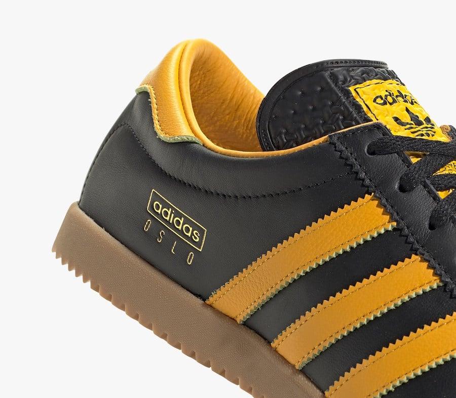 adidas Oslo Black Gold EE5724 Release Date Info