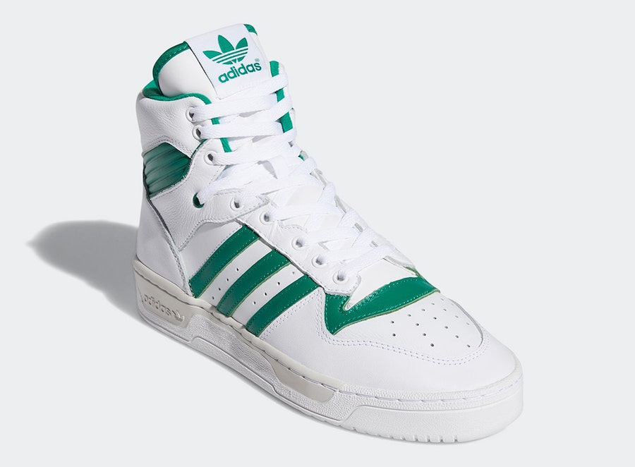 adidas Rivalry Hi White Green EE4972 Release Date Info