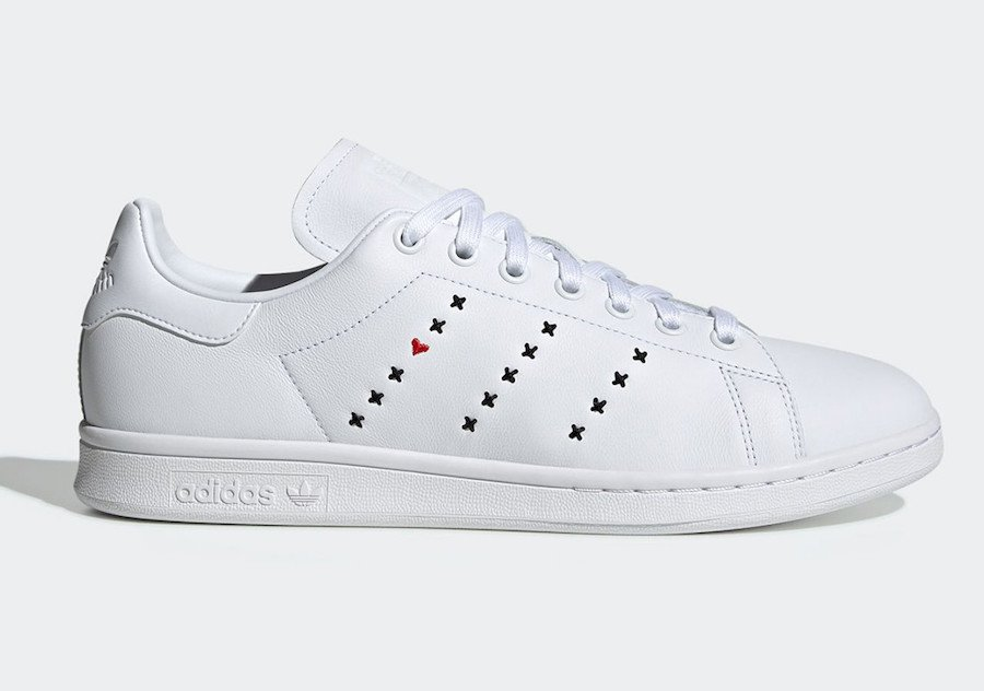 adidas Stan Smith Heart Stripe Pack EG5810 EG5811 Release Date Info
