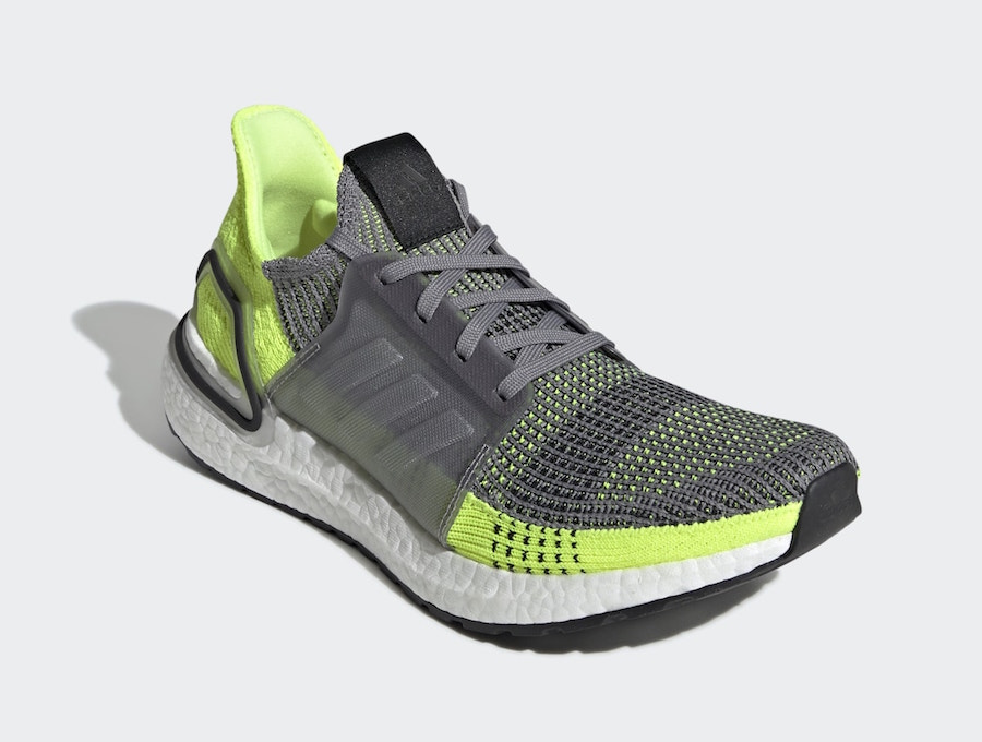 adidas Ultra Boost 2019 Grey Volt EF1343 Release Date Info