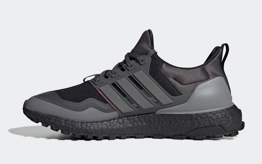 adidas Ultra Boost All Terrain Black Grey Red EG8098 Release Date Info