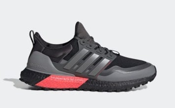 adidas Ultra Boost All Terrain Black Grey Red EG8098 Release Date Info