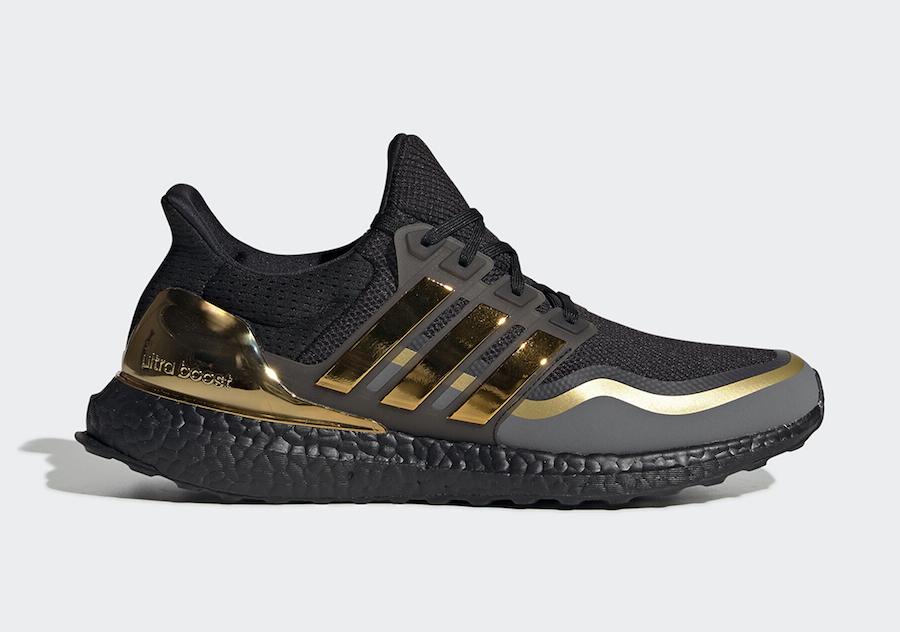 adidas Ultra Boost Black Gold EG8102