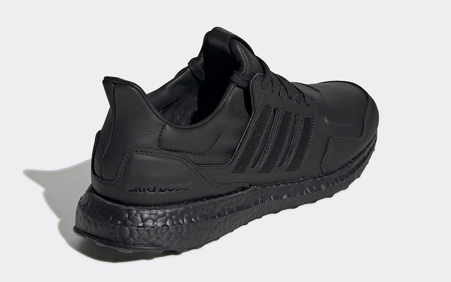 adidas Ultra Boost Leather White EF1355 Black EF0901 Release