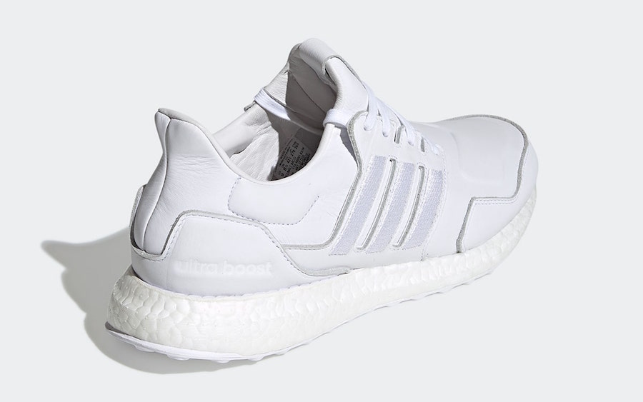 adidas Ultra Boost Leather White EF1355 Release Date Info