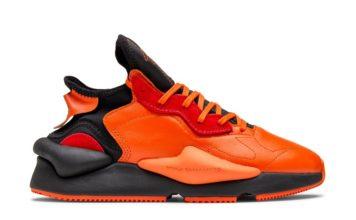 adidas Y-3 Kaiwa Orange Black EF7523 Release Date Info