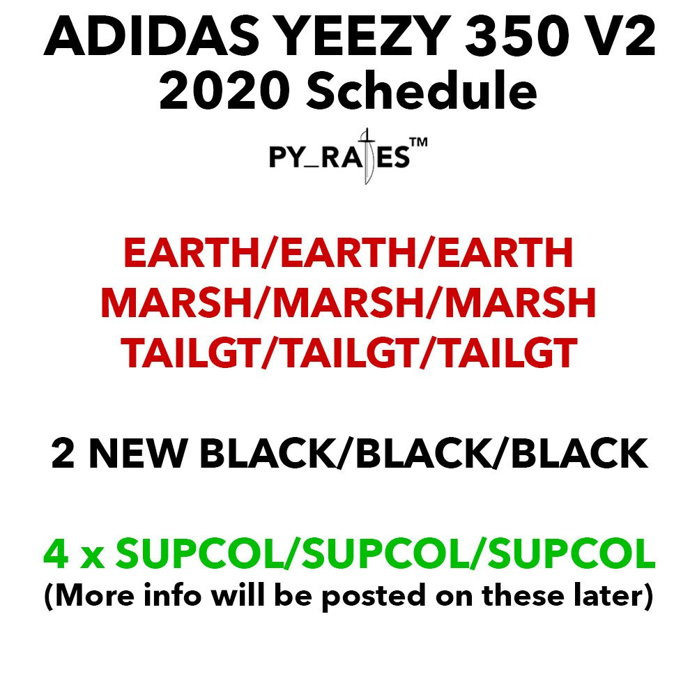 adidas Yeezy Boost 350 V2 2020 Release Date Info