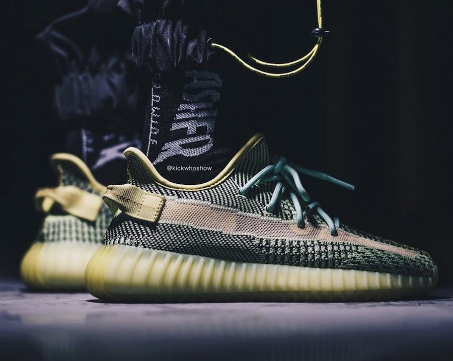 adidas Yeezy Boost 350 V2 Yeezreel On Feet