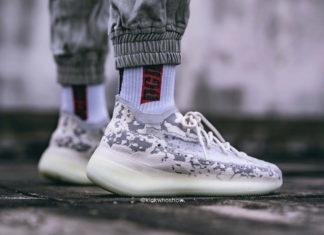 adidas Yeezy Boost 380 Alien FB6878 On Feet