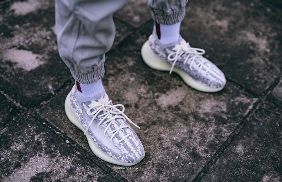adidas Yeezy Boost 380 Alien FB6878 On Feet