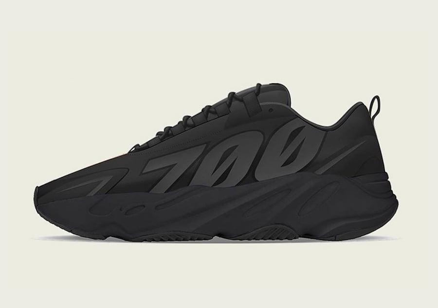 adidas Yeezy Boost 700 MNVN Triple Black Release Date