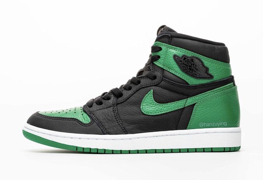 Air Jordan 1 Pine Green 555088-030 2020 Release