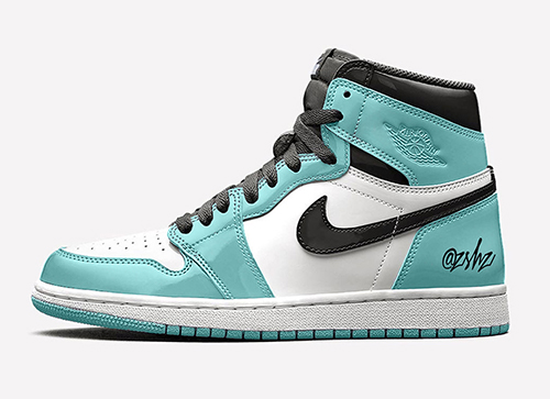 Air Jordan 1 Patent Leather White Aurora Black 2020 Release Date